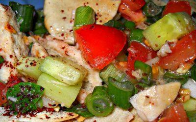 Fattoush is a delicous lebanese salad